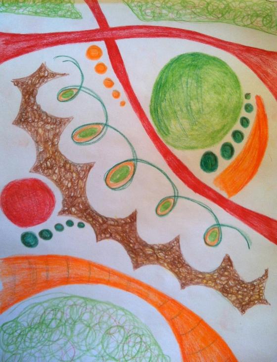 Prismacolor doodle
